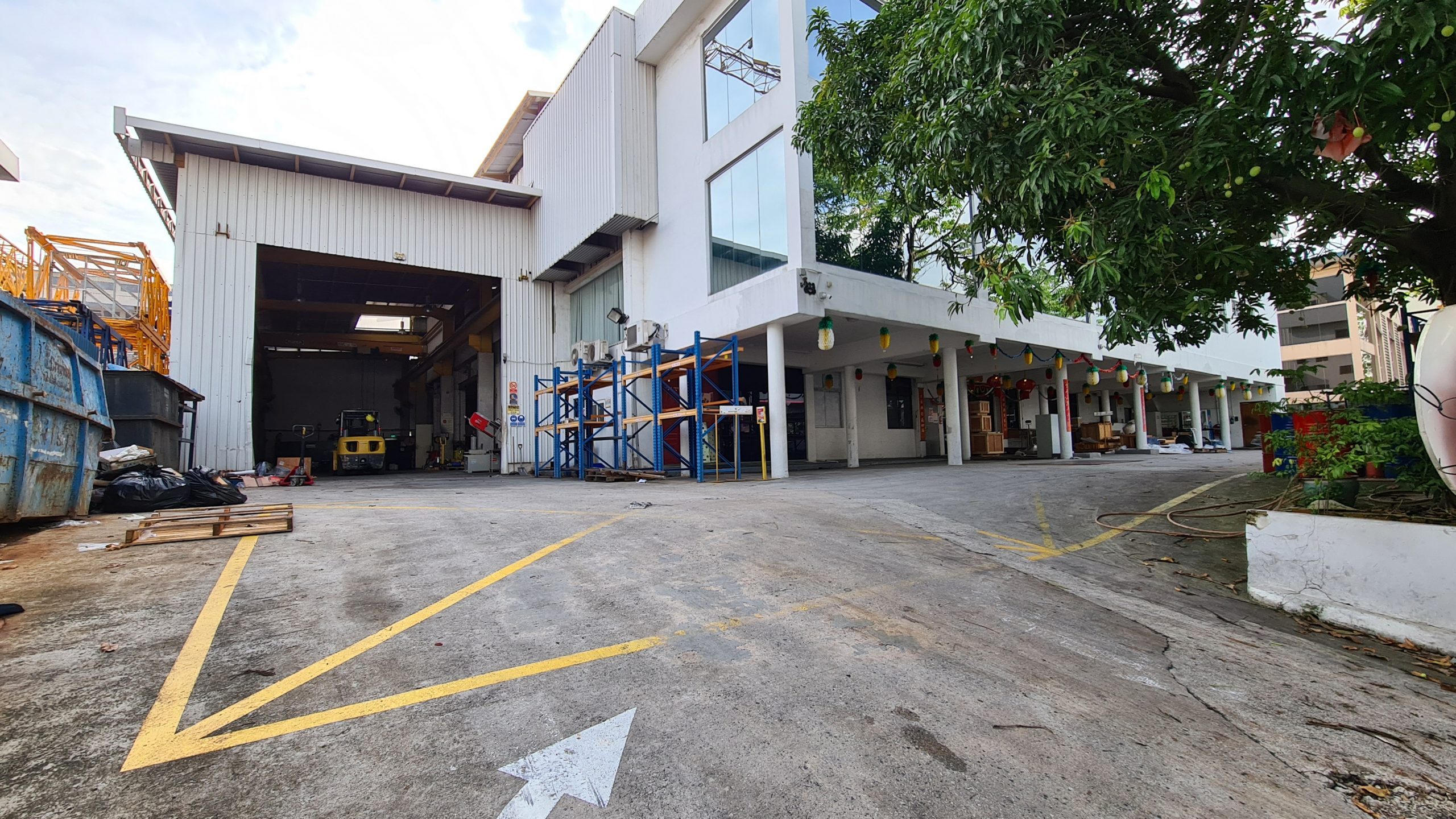 Detached B2 Factory in Tuas Ave 13 for Sale